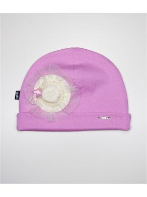 Шапка SHUMI DESIGN. Цвет: розовый