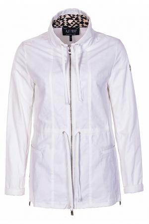 Ветровка Armani Jeans. Цвет: белый