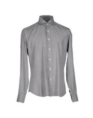Pубашка DANDYLIFE BY BARBA. Цвет: серый