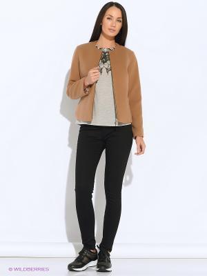 Куртка Colambetta. Цвет: бежевый