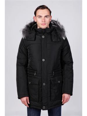 Куртка мужская Barkland. Цвет: черный