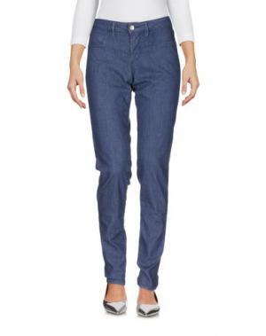 Джинсовые брюки FRED PERRY. Цвет: синий