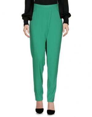 Повседневные брюки SH by SILVIAN HEACH. Цвет: зеленый