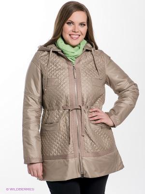 Куртка Sinta Via. Цвет: бежевый