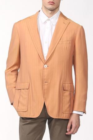 Пиджак D'Avenza. Цвет: оранжевый