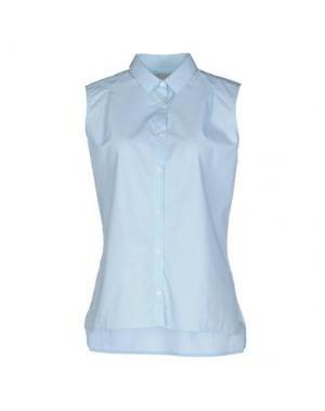 Pубашка MISERICORDIA. Цвет: небесно-голубой