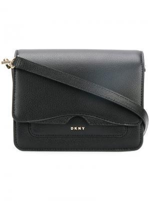 Мини сумка на плечо Donna Karan. Цвет: чёрный