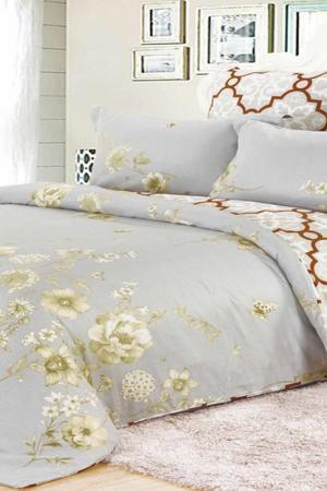 Постельное белье 2 сп, 70х70 DIVA AFRODITA. Цвет: бледно-серый