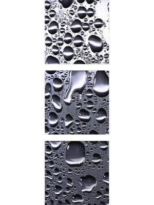 Модульная картина на стекле ДСТ. Цвет: серый
