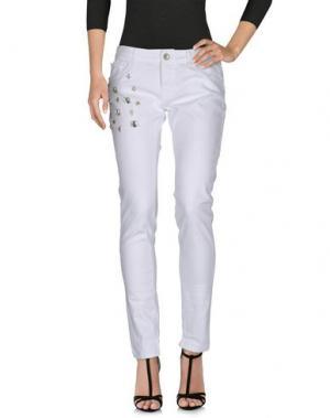 Джинсовые брюки IMPERIAL. Цвет: белый