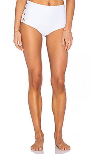 Низ бикини tamarind Tori Praver Swimwear. Цвет: белый