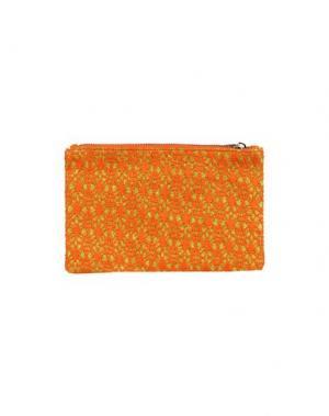 Сумка на руку STYLESNOB. Цвет: оранжевый