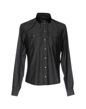 Джинсовая рубашка GUCCI. Цвет: черный