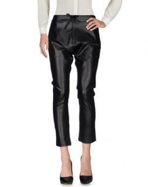 Повседневные брюки SALAMANDRINA. Цвет: черный