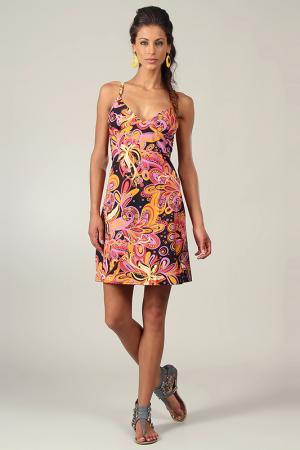 Платье Aller Simplement. Цвет: multicolor