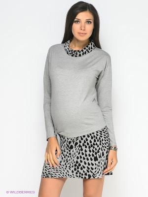 Платье Mamita. Цвет: серый