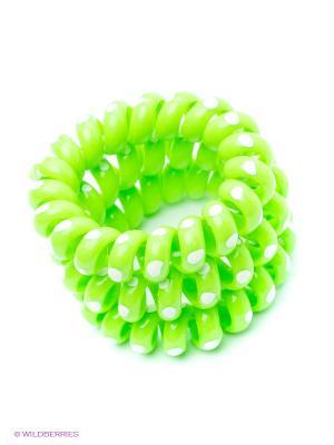 Резинка-браслет для волос Mitya Veselkov. Цвет: зеленый