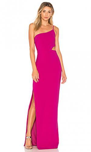 Вечернее платье leann LIKELY. Цвет: розовый
