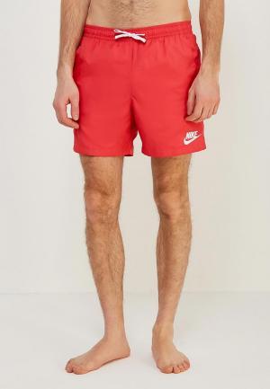 Шорты для плавания Nike. Цвет: красный