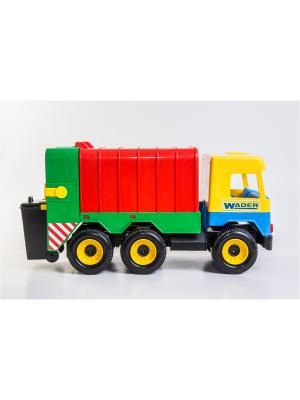 Middle truck мусоровоз ТИГРЕС. Цвет: желтый, синий, зеленый, красный