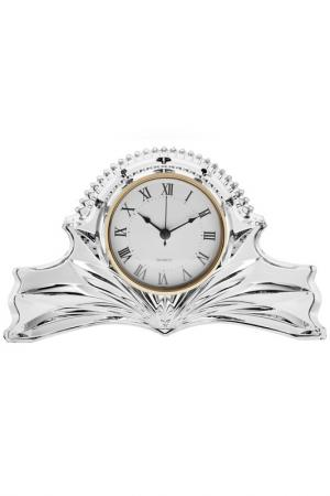 Часы, 27 см CRYSTAL BOHEMIA. Цвет: прозрачный