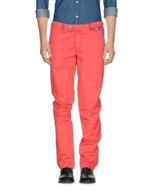 Повседневные брюки DIMATTIA. Цвет: коралловый