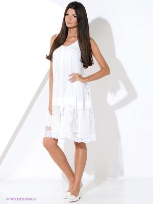 Платье Malvin. Цвет: белый