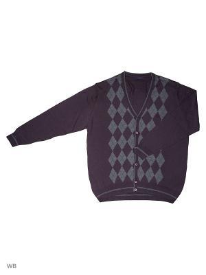 Кардиган TADDY Q. Цвет: темно-фиолетовый