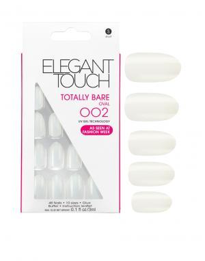 Elegant Touch Овальные накладные ногти Totally Bare. Цвет: бежевый