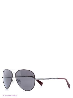 Солнцезащитные очки BLD 1526 102 Baldinini. Цвет: черный, бордовый
