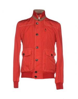 Куртка MABRUN. Цвет: красный