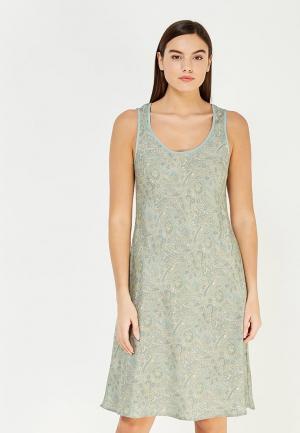 Сорочка ночная Mia-Mia. Цвет: зеленый