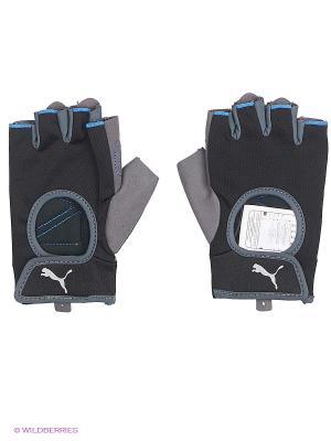 Перчатки Training Gloves Puma. Цвет: серый