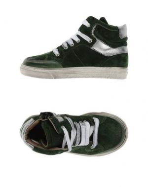 Высокие кеды и кроссовки GRANT GARÇON. Цвет: зеленый
