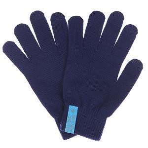 Перчатки  Touchgloves Navy TrueSpin. Цвет: синий