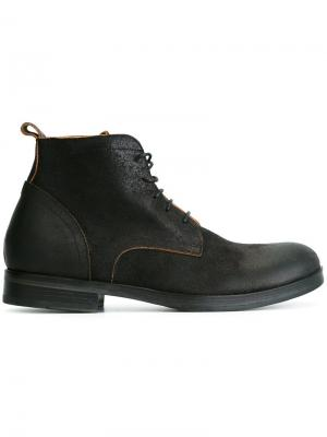 Ботинки на шнуровке Fiorentini +  Baker. Цвет: коричневый