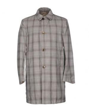 Легкое пальто CALVARESI. Цвет: серый