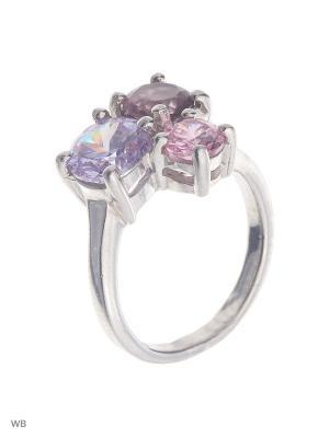 Кольцо Мастер Клио. Цвет: серебристый, розовый, сиреневый, фиолетовый