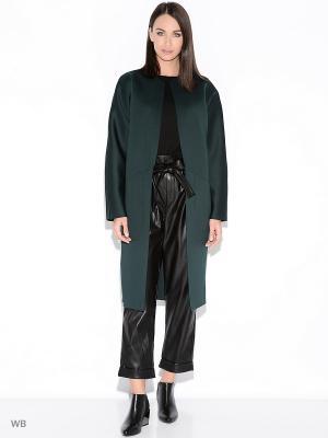 Пальто Colambetta. Цвет: темно-зеленый