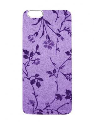 Чехол для iPhone 6 Пурпурные лютики Chocopony. Цвет: фиолетовый, сливовый, темно-фиолетовый