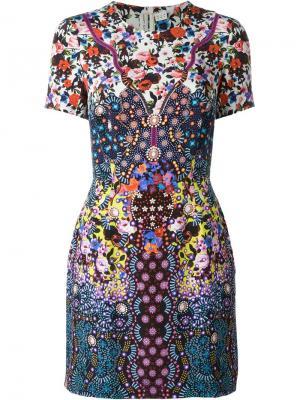 Платье Tildar Mary Katrantzou. Цвет: многоцветный