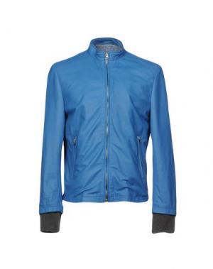 Куртка VINTAGE DE LUXE. Цвет: лазурный