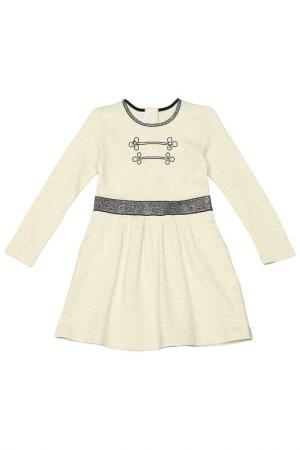 Платье Little Marc Jacobs. Цвет: молочный
