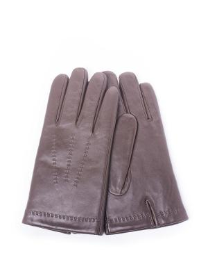 Перчатки BAGGINI. Цвет: темно-коричневый