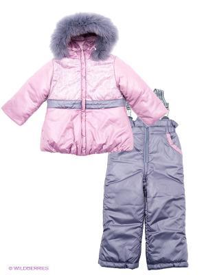 Комплект одежды Аксарт. Цвет: лиловый, розовый
