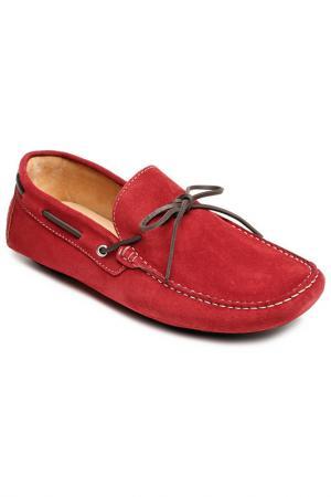 Мокасины Del Re. Цвет: red