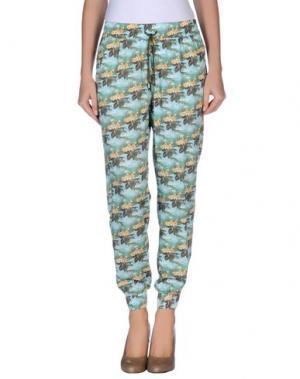 Повседневные брюки EMMA COOK. Цвет: бирюзовый
