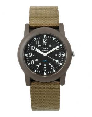 Наручные часы TIMEX. Цвет: зеленый-милитари