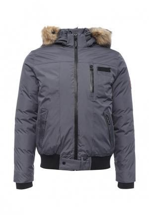 Куртка утепленная Kamora. Цвет: серый