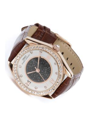 Часы на ремне IBSO. Цвет: коричневый, золотистый